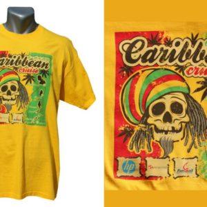 Karaiby z naszą koszulką