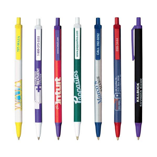 Długopisy plastikowe