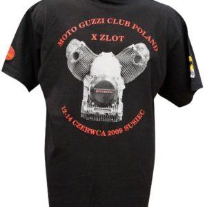 Moto Guzi na koszulce